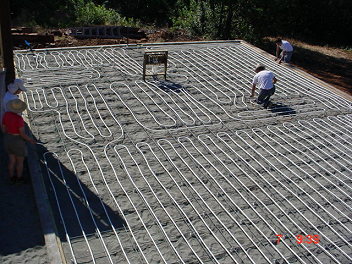Residential & Commercial Solar Hot Water - Hydronic Radiant Heating - Wood Fire Hot Water Furnace Northern California